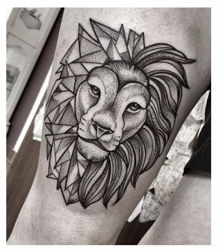 37 Awesome Leo Tattoos For Girls: Size İlham Verecek 47 Aslan Dövmesi Fikri